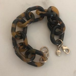 3 for $25 -  JCrew tortoise bracelet